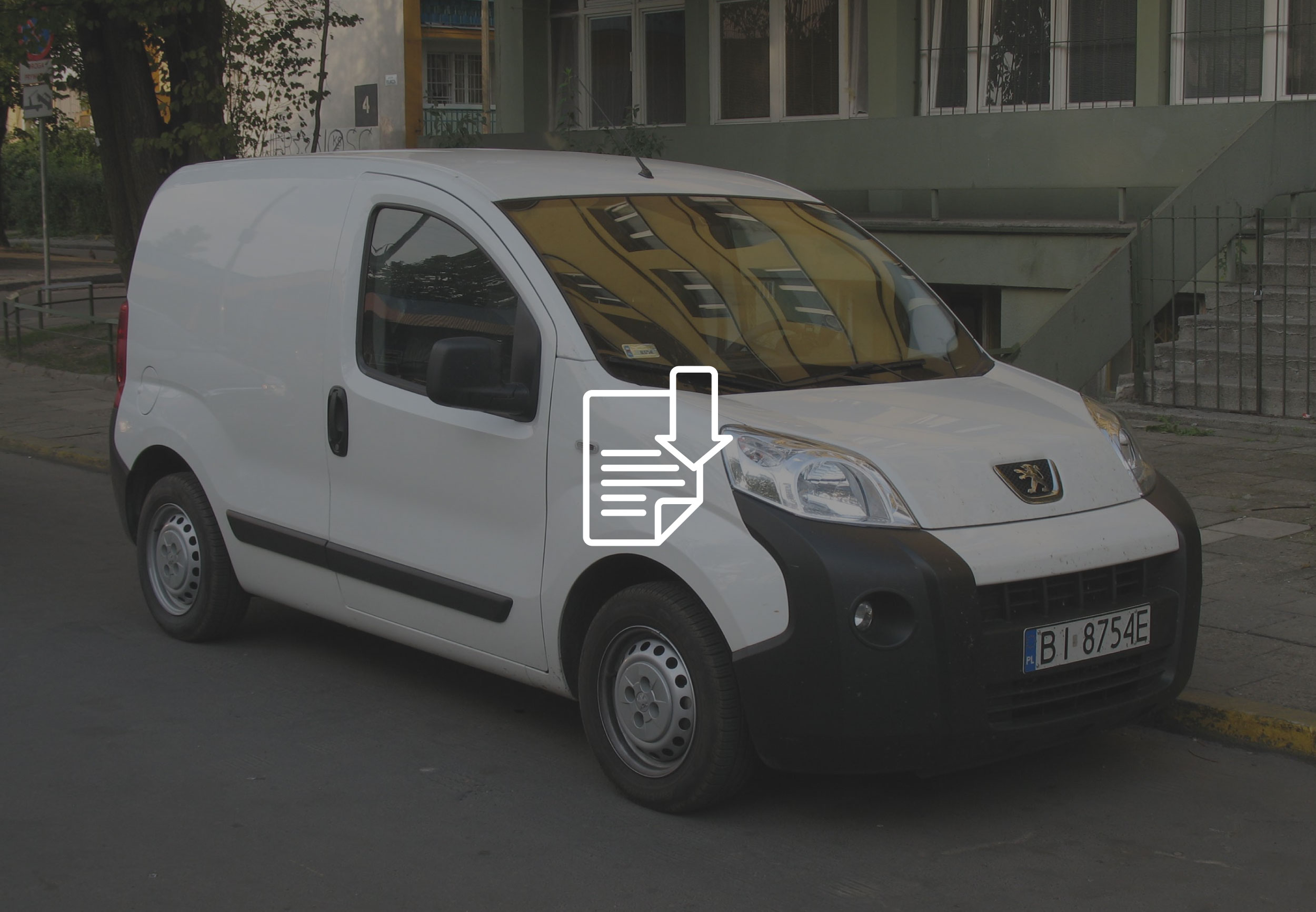 PEUGEOT BIPPER fitting instructions ufo temporary
