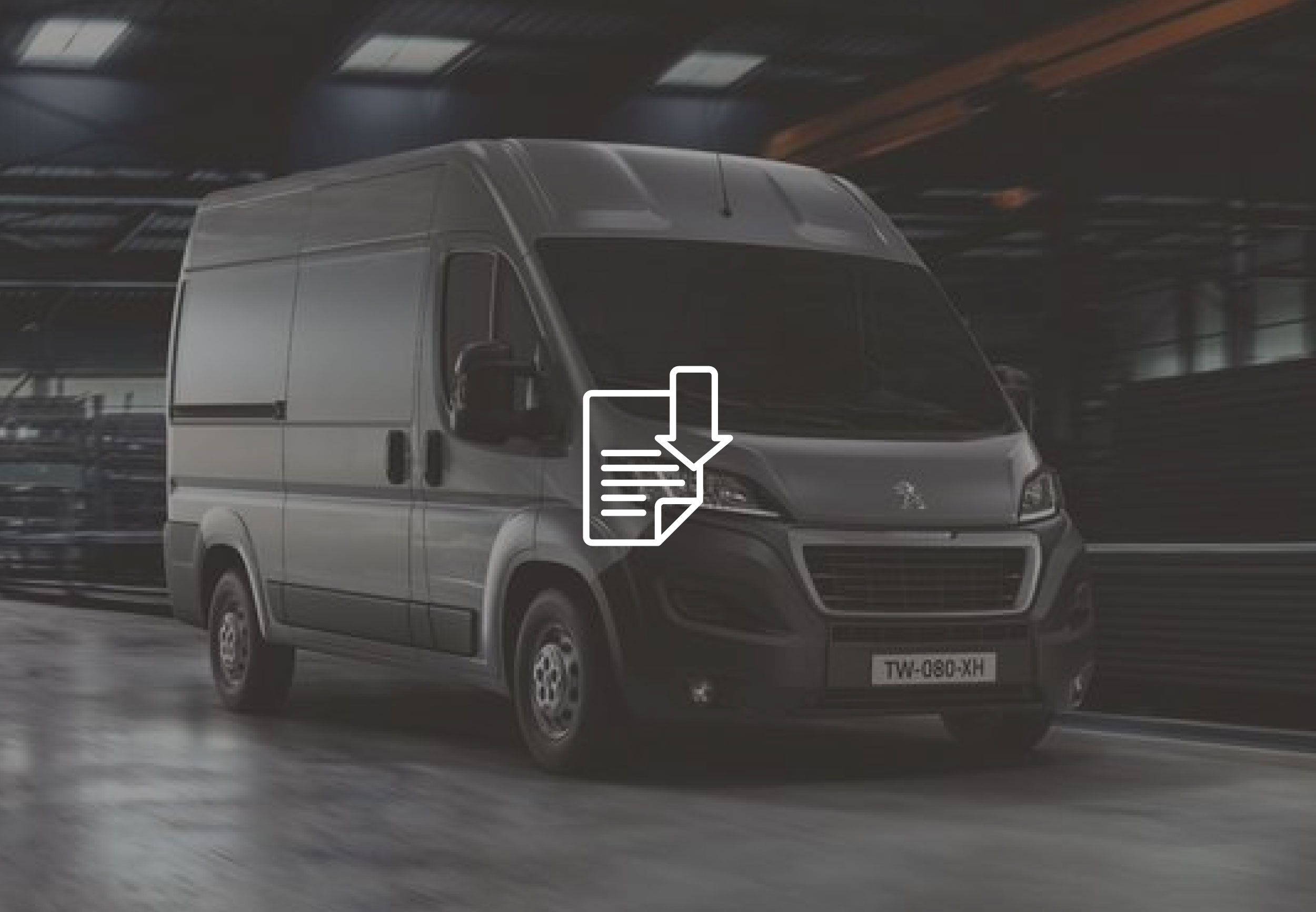 PEUGEOT BOXER fitting instructions ufo temporary