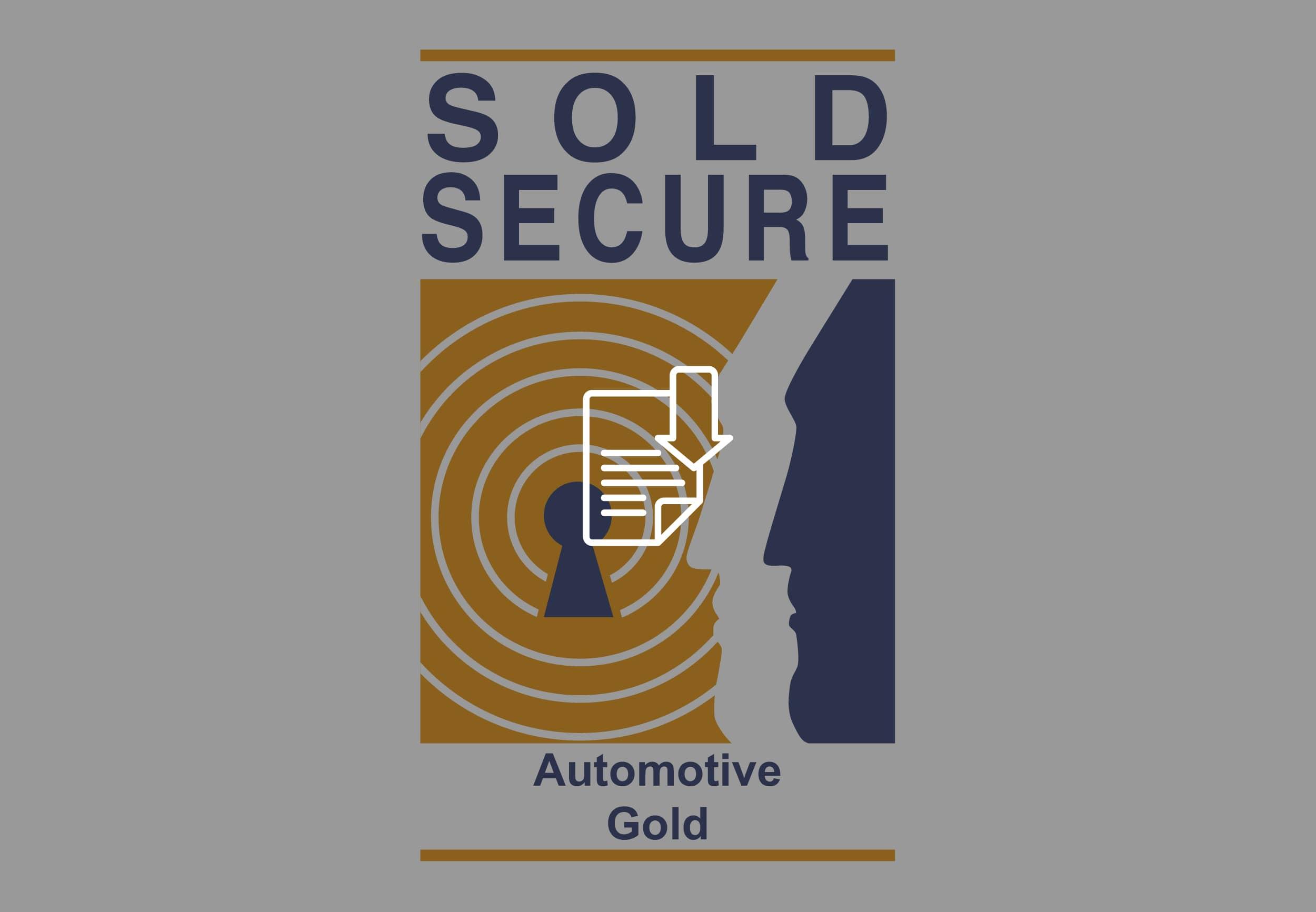 certificazione sold secure automotive gold