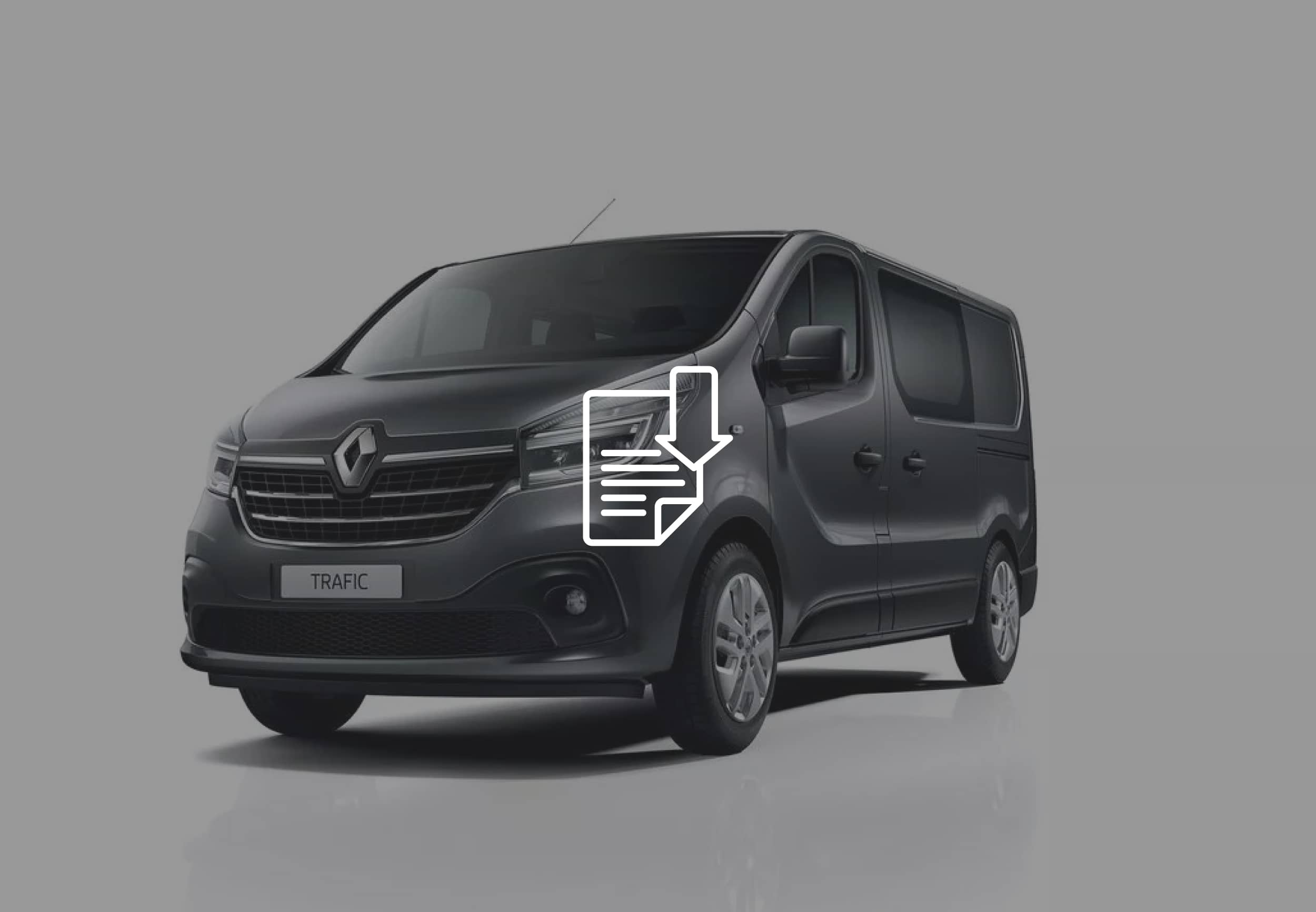 FITTING INSTRUCTIONS UFO TEMPORARY RENAULT TRAFIC